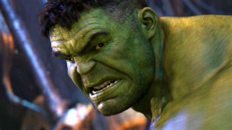 infinity war commentary explains  hulks behavior
