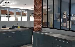 stunning cuisine sur 1 mur images design trends 2017 With deco mur exterieur maison 2 cuisine indogate decoration cuisine carrelage mural