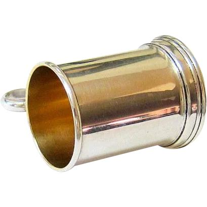 Sterling Silver Barware - sterling silver barware jigger glass by lunt