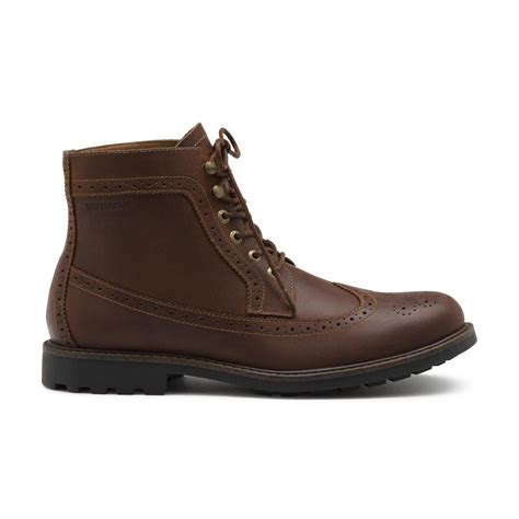 ghbass leather viking boot  brown  men lyst