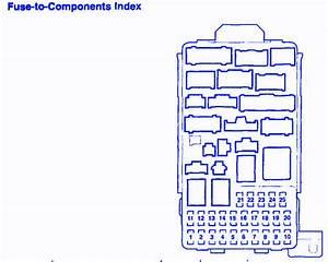 Honda Pilot 2005 Under The Dash Fuse Box  Block Circuit Breaker Diagram