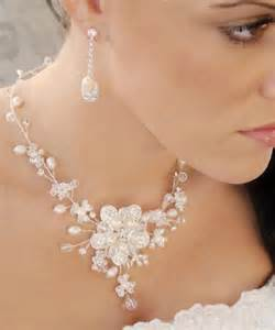 pearl bridesmaid jewelry sets envogue freshwater pearl wedding necklace earring bridal jewelry set 2065432 weddbook