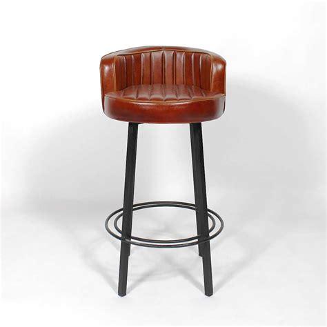 dossier canapé tabouret de bar industriel diner made in meubles