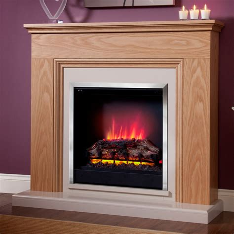 modern stanton electric fireplace suite affordable price