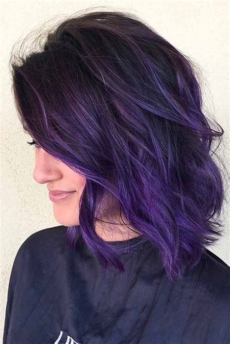 25 Best Purple Hair Ideas On Pinterest Dark Purple Hair