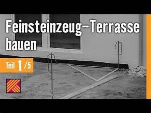 Feinsteinzeug Terrasse Nachteile : version 2013 feinsteinzeug terrasse bauen kapitel 1 terrassenplanung youtube ~ Eleganceandgraceweddings.com Haus und Dekorationen