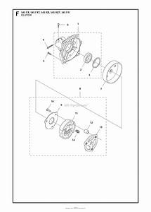 Husqvarna 545 Rx Parts Diagram For Clutch