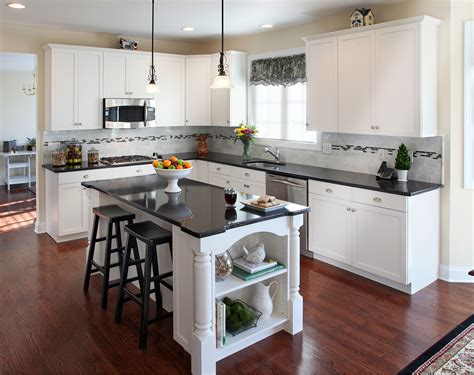white kitchen cabinets and black countertops kitchen white cabinets countertops give your 2049