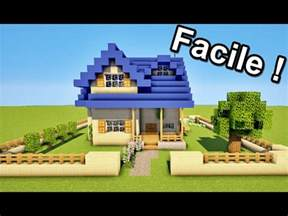 minecraft comment faire une maison facilement tuto