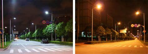 high pressure sodium lights vs led energyefficient led street lights visibility safety digikey
