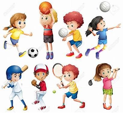 Sport Clipart Children Station