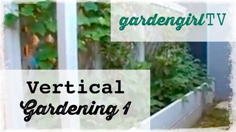Can You Grow In A Vertical Garden by Garden Tv Vertical Gardening One How To Grow