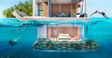 floating seahorse   dream boathouses  dubai