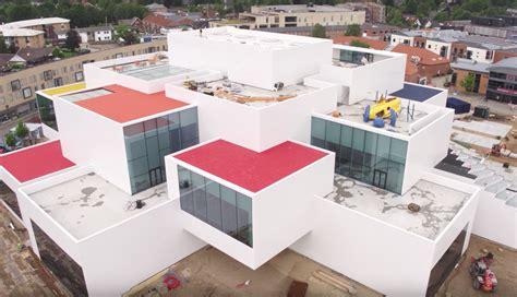 Lego House - amazing drone footage of the lego house in denmark fubiz