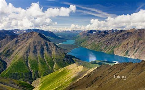 Yukon Canada Kluane National Park Bing Wallpaper