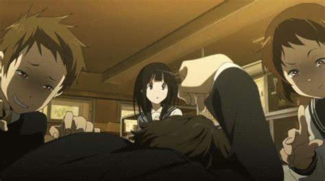 anime anime gif hyouka houtarou oreki houtarou oreki kaito