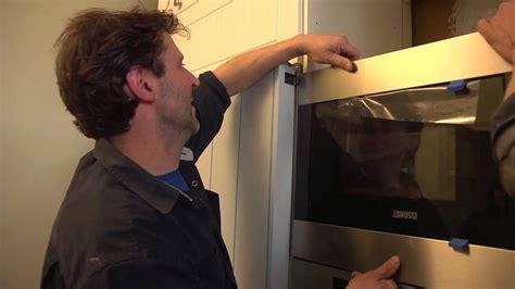 installer des electromenagers encastrables hotte micro