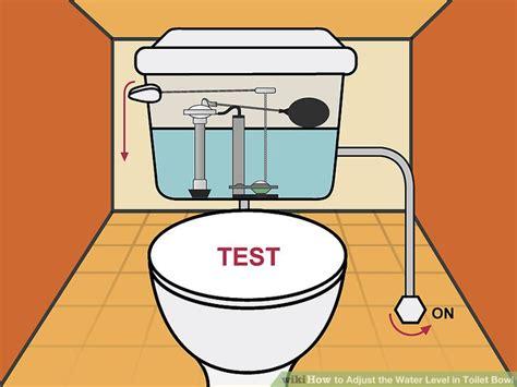 3 Ways To Adjust The Water Level In Toilet Bowl Wikihow