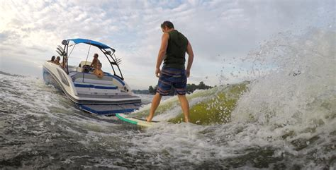 Wake Boat For Surfing by 10 Of The Best Wake Surfing Runabouts Boat