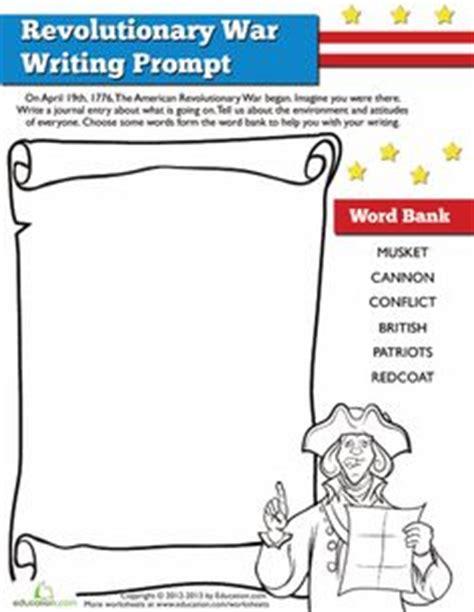 revolutionary war worksheets for elementary students homeschool social studies on westward