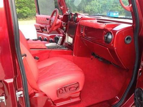purchase  hummer  sut  candy red custom