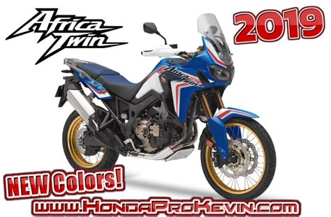 New 2019 Honda Africa Twin Price / Colors Released
