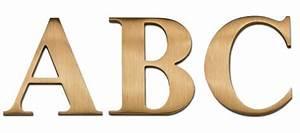 dimensional letters bronze aluminum cast metal letters With gemini metal letters