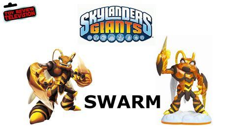 Skylanders Giants Swarm Figure Toy Review Unboxing + Demo