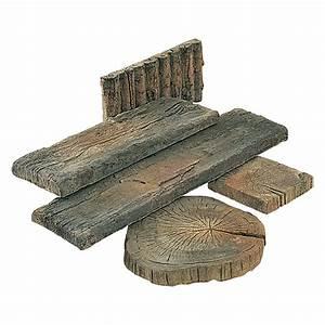 Betonplatten Mit Holzstruktur : ehl gehwegplatte beton bahnschwelle naturbraun 22 5 x 90 x 5 cm stonewood bauhaus ~ Markanthonyermac.com Haus und Dekorationen