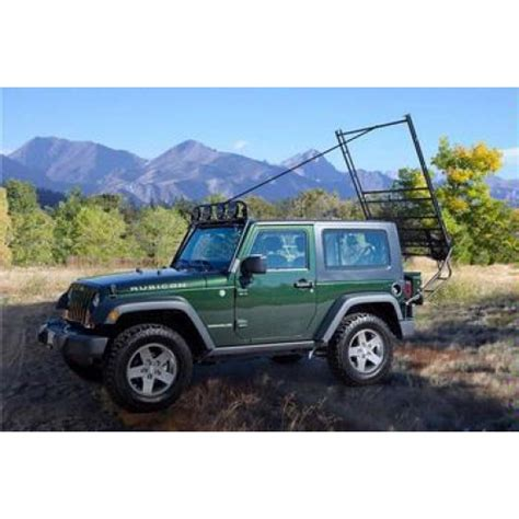 jeep hardtop removal hardtop removal with gobi rack ladder jeep wrangler forum