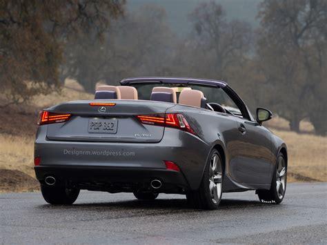 lexus convertible 2014 2014 lexus is convertible rendered autoevolution