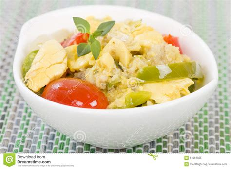 cuisine jamaicaine ackee et saltfish photo stock image 64064855