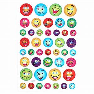 Fancy Emoji Glitter Stickers Hobbycraft