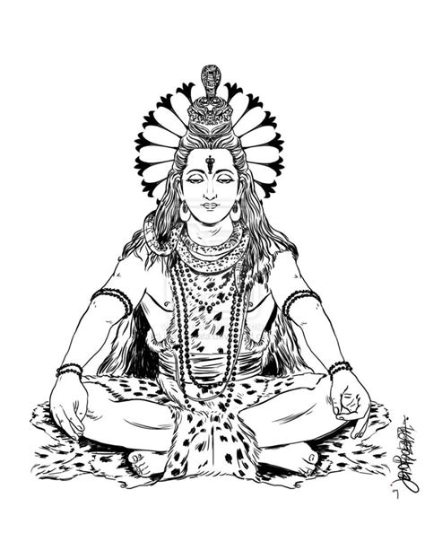 Lord Shiva Sketch | galleryhip.com - The Hippest Galleries