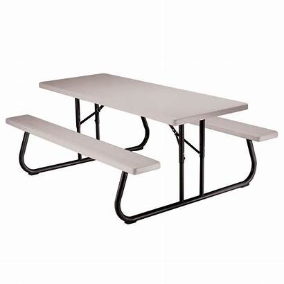 Picnic Lifetime Folding Table Benches Ft Tables