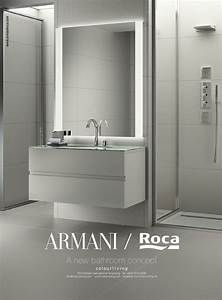 Armani, Roca, A, New, Bathroom, Concept