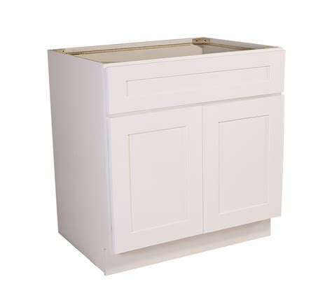 48 sink base cabinet brookings 48 quot sink base cabinet white shaker 561514