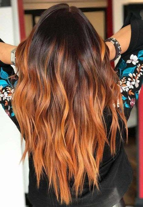 shatush rame le tonalita piu belle capelli arancioni