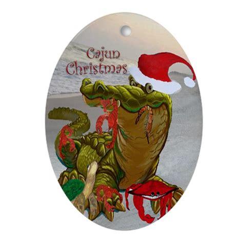 cajun christmas oval ornament ornament oval by bythebeach