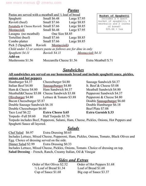 Mūsdienu līdz šim vienkāršota, cena ir ilgtspējīga, klasisks, mierināt kulinārijas mākslas atomu skaits 85 tās finest. Online Menu of Al & Leda Pizzeria Restaurant, Dixon, Illinois, 61021 - Zmenu