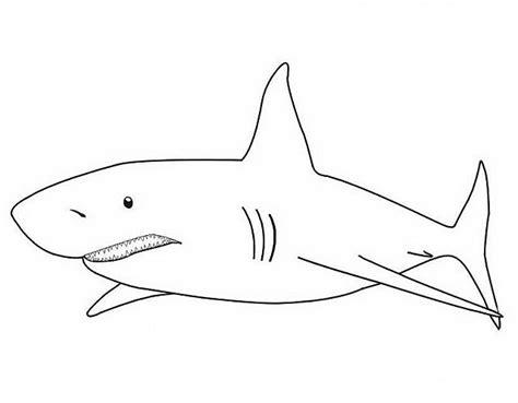 disegni da colorare semplici disegni semplici da colorare di squali disegni da