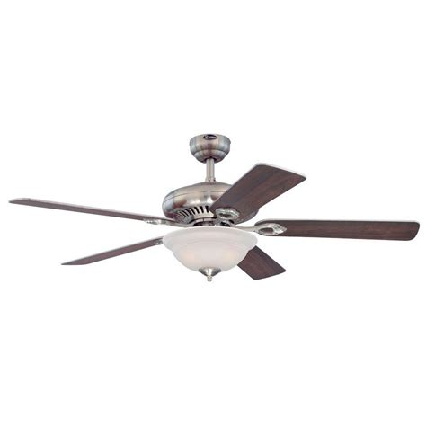 Westinghouse Fairview 52 In Brushed Nickel Indoor Ceiling