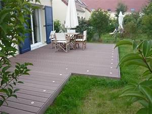 Bois Composite Pour Terrasse : terrasse composite antony pose terrasse bois composite ~ Edinachiropracticcenter.com Idées de Décoration