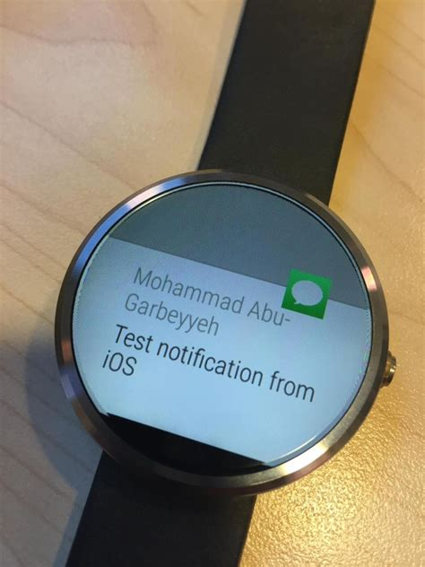 android wear developer integrates android wear notifications on ios