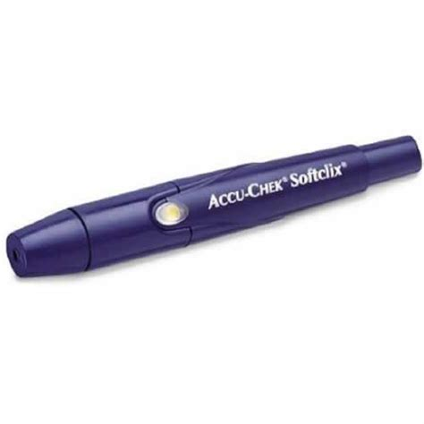 Lancing Device accu chek softclix lancing device diabetic supplies
