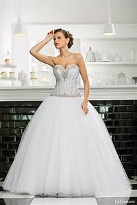 la lucienne 2015 wedding dresses luxury bridal With drop waist ball gown wedding dress