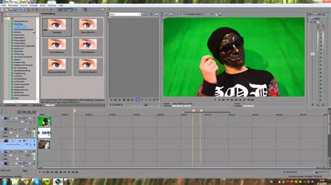 (green)screen Chroma Keying Tutorial Deutsch