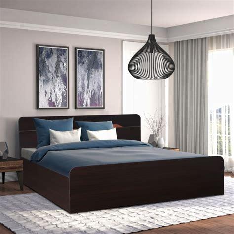 buy swirl engineered wood box storage king size bed
