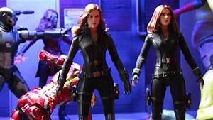 Hot Toys Civil War Black Widow Review - Diorama ...
