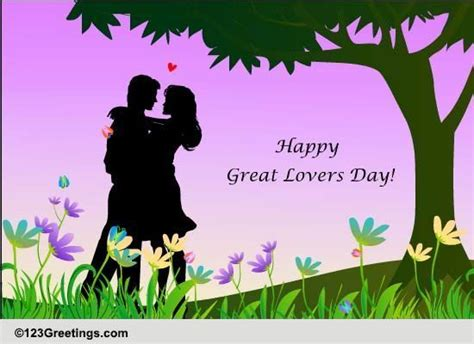 great lovers day cards  great lovers day ecards